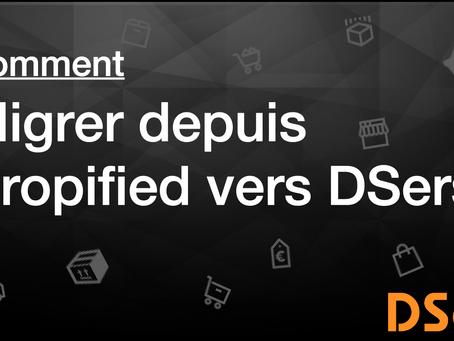 Comment migrer depuis Dropified vers DSers