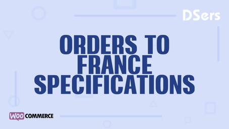 Orders to France specifications