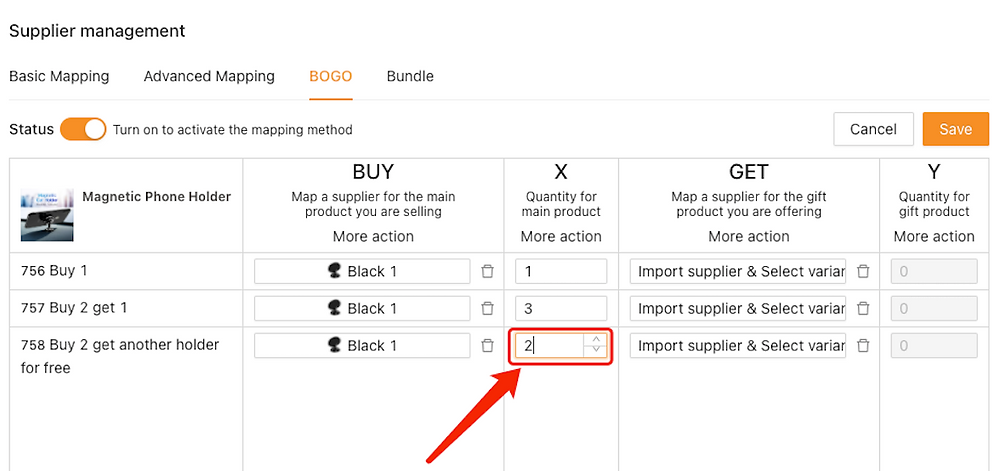 Create Buy One Get One offers with Woo DSers - Change quantity accordingly - Woo DSers