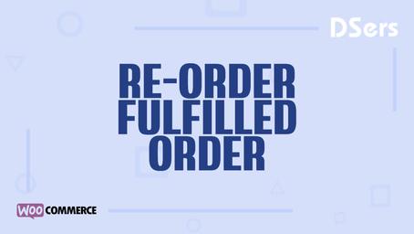 Re-order fulfilled orders
