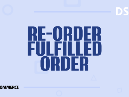 Re-order fulfilled orders