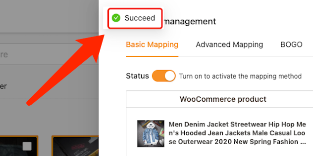 Connect AliExpress suppliers to your products with Woo DSers - Successfully saved - Woo DSers