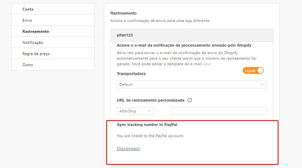 Como adicionar um número de rastreamento às transações do PayPal - 1 - DSers