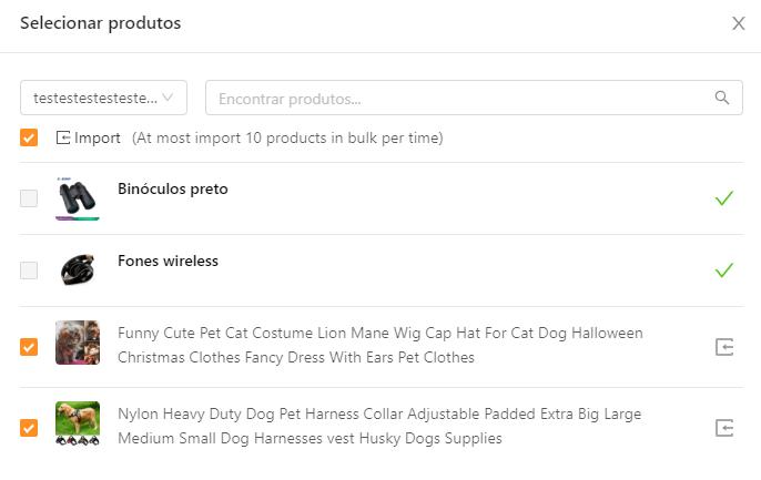 Como importar produtos do Shopify para o DSers - 4 - DSers