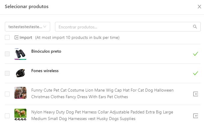 Como importar produtos do Shopify para o DSers - 3 - DSers