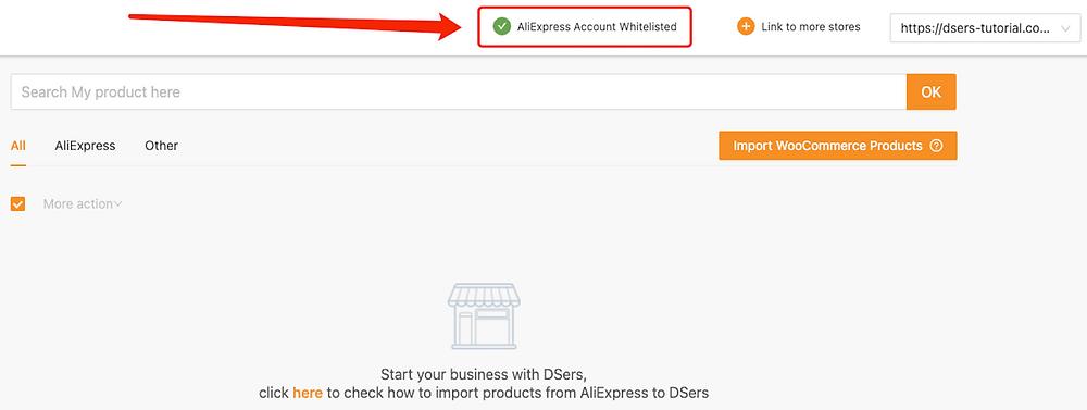 Vincular o DSers ao AliExpress com Woo DSers - 12 - Woo DSers