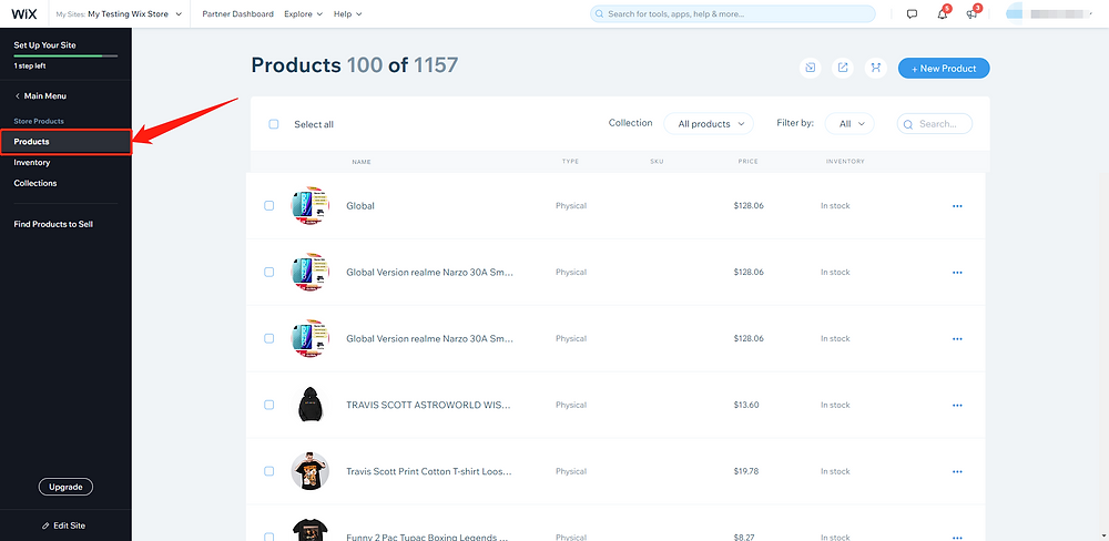 Add a variant to a product with Wix DSers - products - Wix DSers