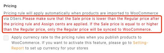 Regras de preço com Woo DSers - 7 - Woo DSers