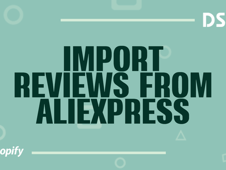Import reviews from AliExpress