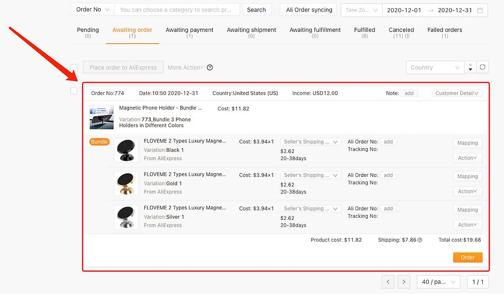 Criar pacotes de produtos com Woo DSers - 39 - Woo DSers