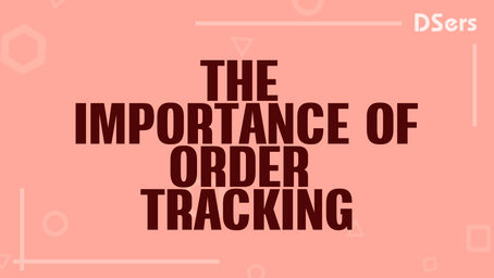 The importance of order tracking