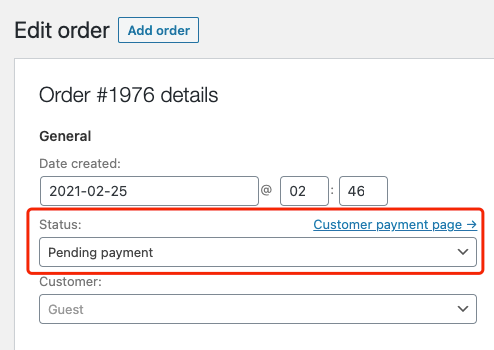 Pending orders introduction with Woo DSers - Pending payment - Woo DSers