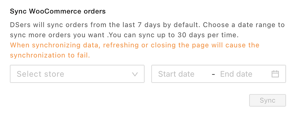 Pending orders introduction with Woo DSers - Sync WooCommerce orders - Woo DSers