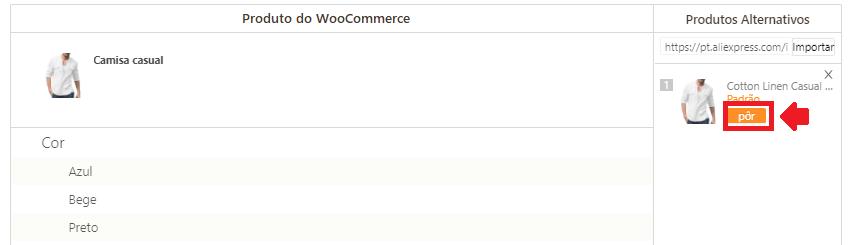 Como mapear meus produtos para o WooCommerce - 9 - DSers