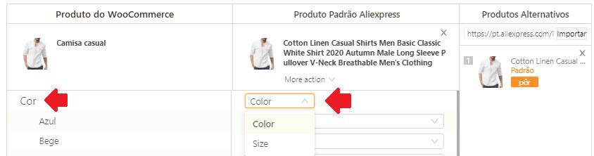 Como mapear meus produtos para o WooCommerce - 12 - DSers