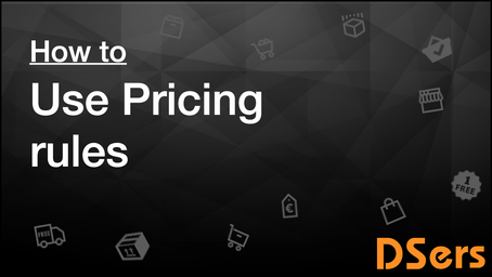 How to use Pricing Rules