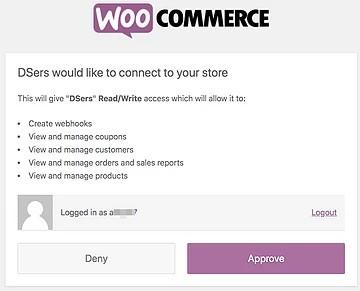 Como adicionar uma loja WooCommerce - 8 - DSers