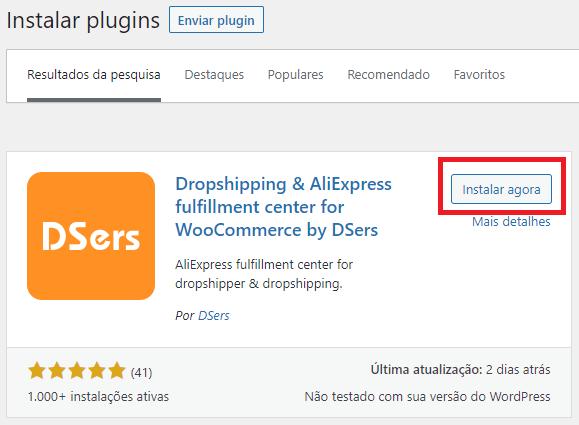 Instalar o DSers no WordPress com Woo DSers - 4 - Woo DSers