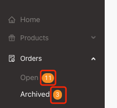 Archive order menu introduction with Woo DSers - Amount of the orders - Woo DSers