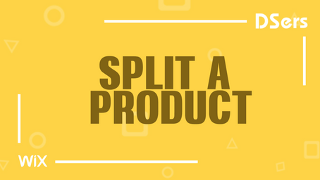 Split a product