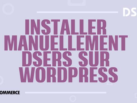 Installer manuellement DSers sur WordPress