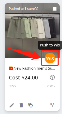 Import List with Wix DSers - push to Wix - Wix DSers