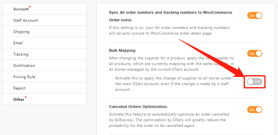 Bulk Mapping with DSers - Activate - Woo DSers