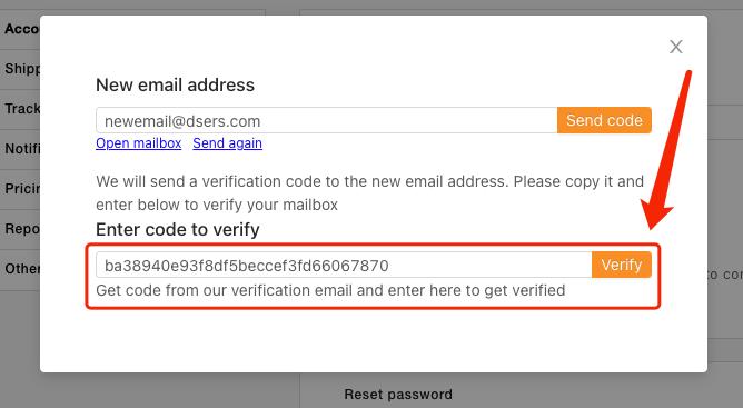 Alterar o e-mail de login com Woo DSers - 5 - Woo DSers