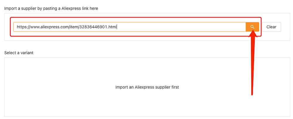 Create Bundles of products with Woo DSers - Paste AliExpress URL - Woo DSers