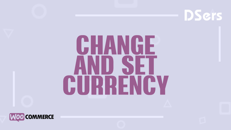 Change and set currency