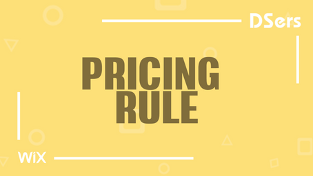 Pricing Rule