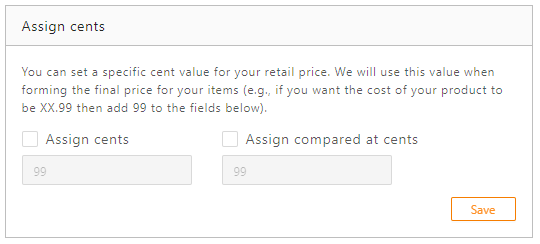 Standard Pricing Rule with DSers - assign cents - DSers