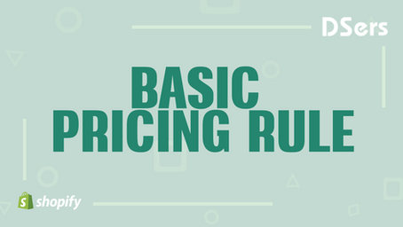 Basic Pricing Rule