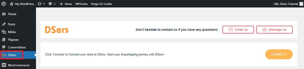 Instalar o DSers no WordPress com Woo DSers - 6 - Woo DSers