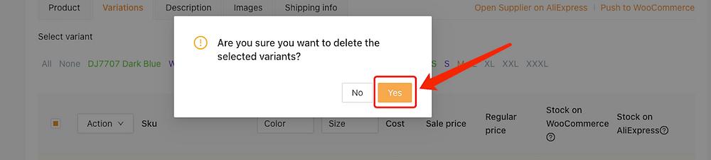 Editar um produto no DSers com Woo DSers - 19 - Woo DSers