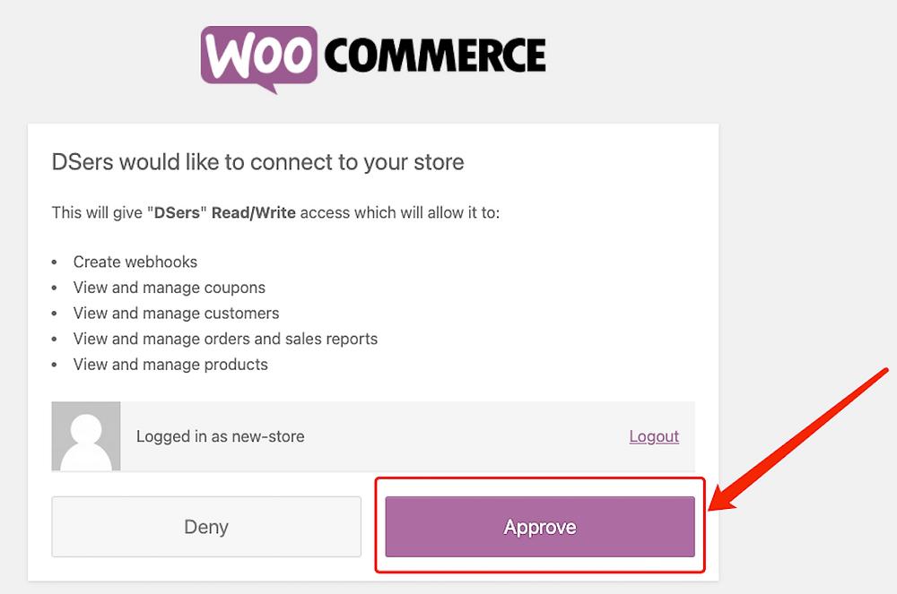 Adicionar uma loja WooCommerce com Woo DSers - 5 - Woo DSers