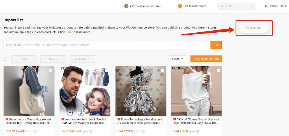 Enviar um produto a uma loja WooCommerce com Woo DSers - 8 - Woo DSers
