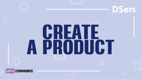 Create a product on WooCommerce
