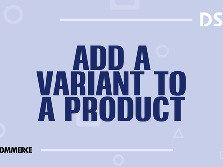 Add a variation to a product