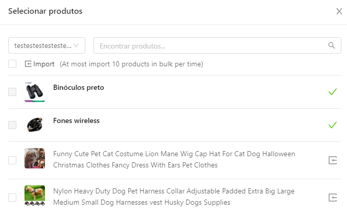 Como importar produtos do WooCommerce para o DSers - 3 - DSers