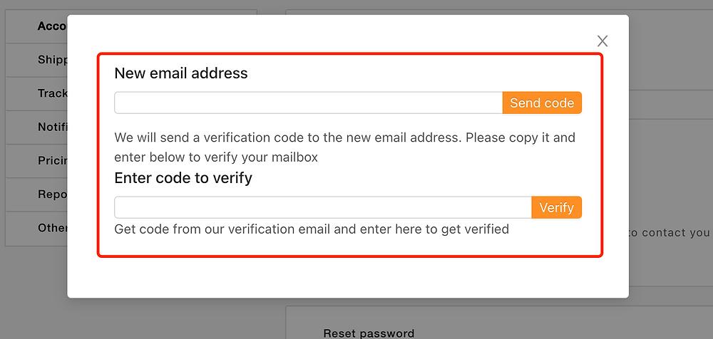 Alterar o e-mail de login com Woo DSers - 2 - Woo DSers