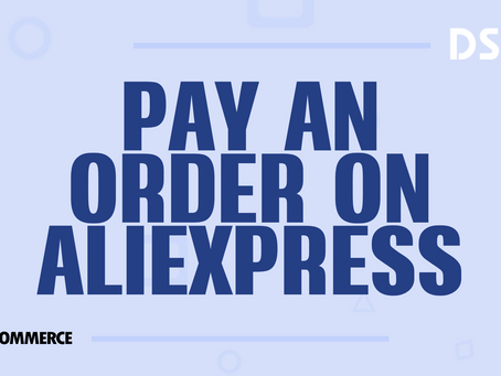 Pay an order on AliExpress