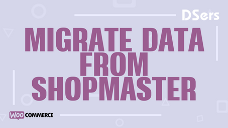 Migrate data from ShopMaster