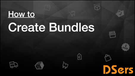Create bundles of products