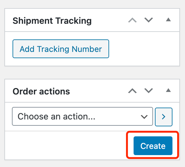 Change quantity of an order with Woo DSers - Click on Create - Woo DSers