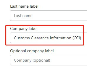 Orders to Korea specifications with Shopify DSers - Company label - Shopify DSers