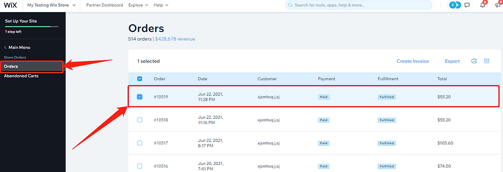 Send tracking number manually with Wix DSers - Wix orders - Wix DSers