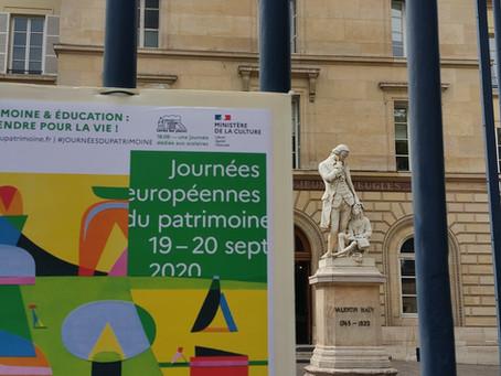 Journée Européennes du Patrimoine à l'INJA