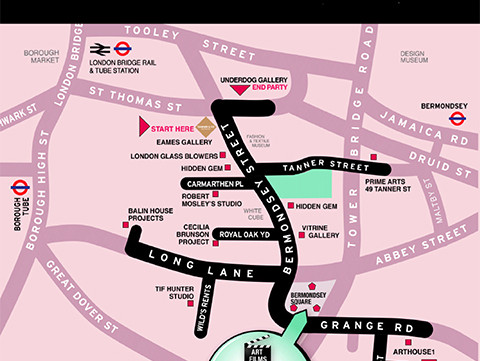Welcome to the Bermondsey Art Trail