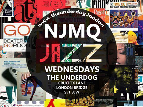 COMING UP LIVE MUSIC: 25th Sept Jazz Wednesdays